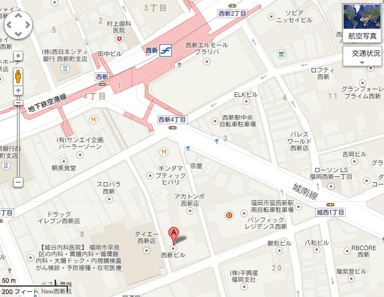 MONOGRAM地図